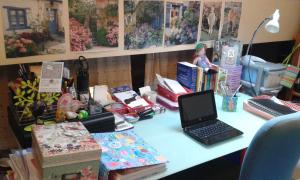 Helen Pollard desk