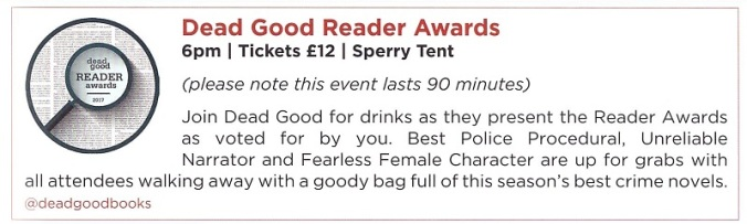 Dead Good Awards 001