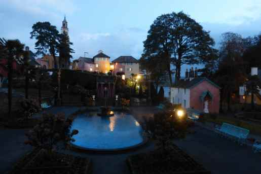 Portmeirion at night