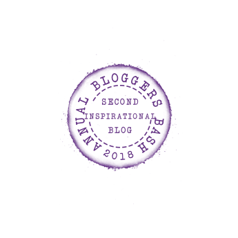 Annual Bloggers Bash, Second Place Inspirational Blog 2018
