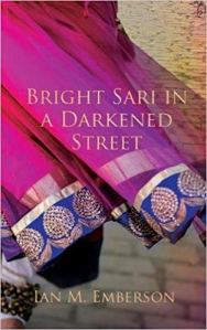 Bright Sari in a Darkened Street