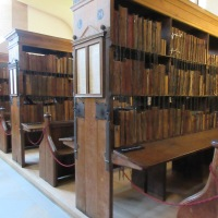 Hereford Cathedral's Chained Library along with an eclectic library inspired reading list (@HFDCathedral)