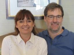Esther and Graeme Harrogate 2019