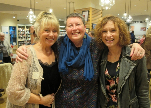 Gina Kirkham and Jackie Buxton Book launch October 2019