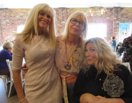 Literary Luch Caroline, Sheryl and Amanda